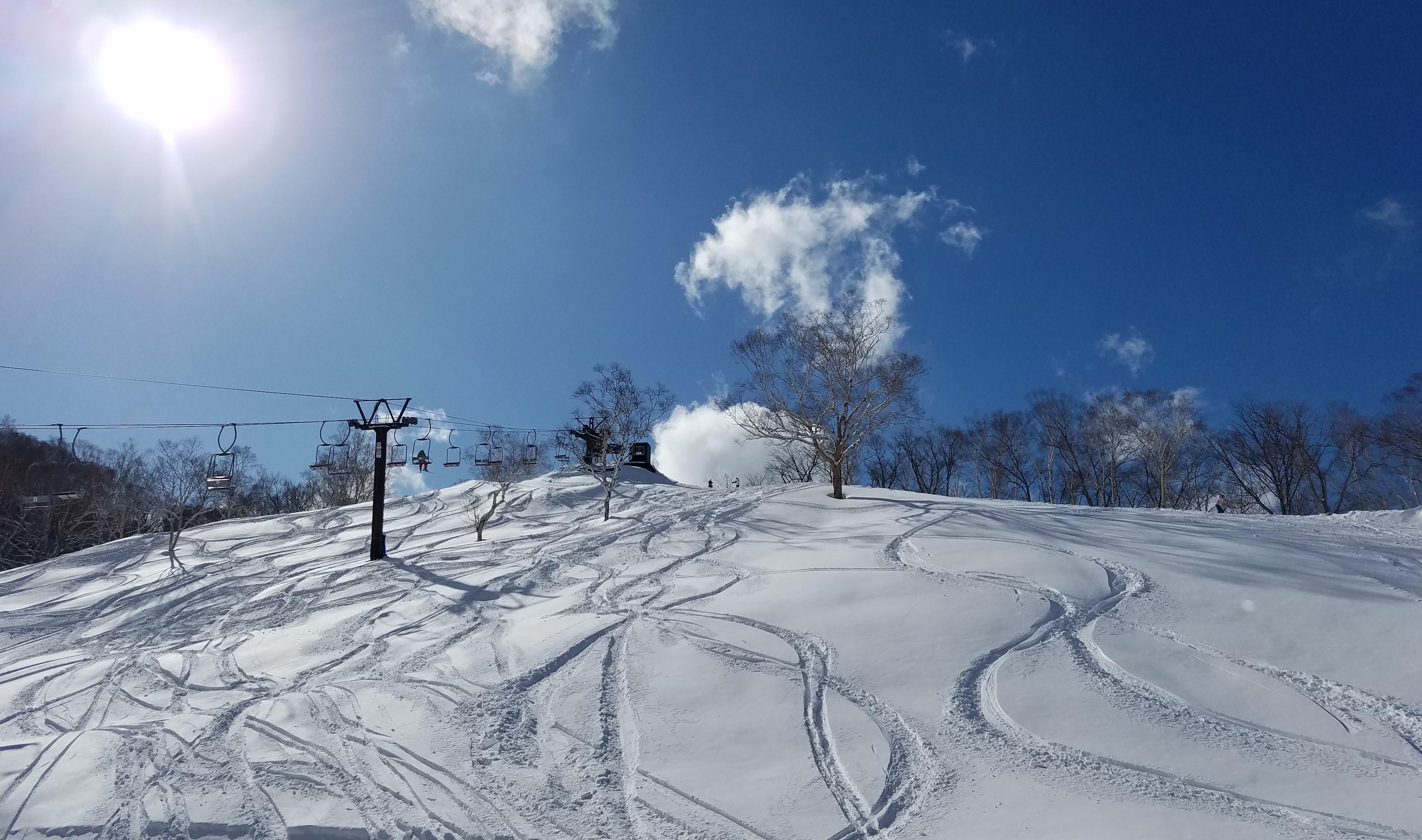 志賀 高原 積雪