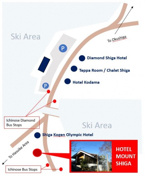 hotel mount shiga map