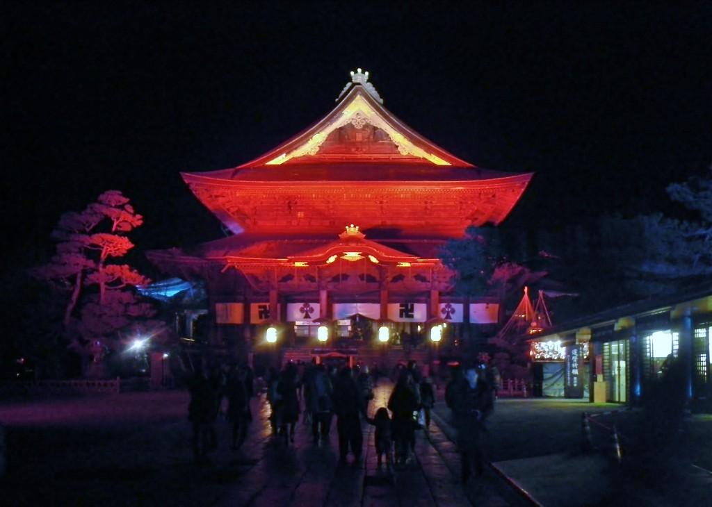 Bright Light In The Dark Night Nagano S Tomyo Lantern Festival Snow Monkey Resorts