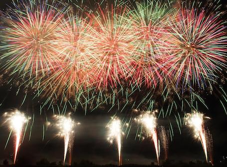 azumino fireworks2
