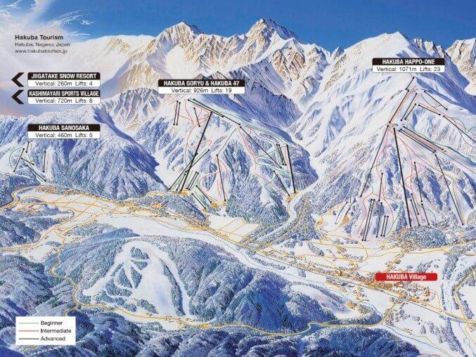 Hakuba Valley Ski Resorts