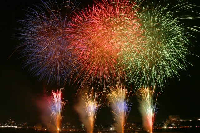 Shinshu Ueda Fireworks
