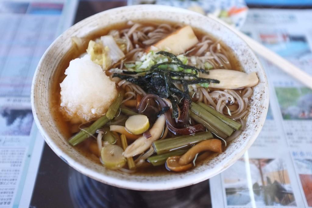hot soba in matsumoto