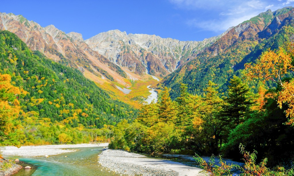 kamikochi-autumn