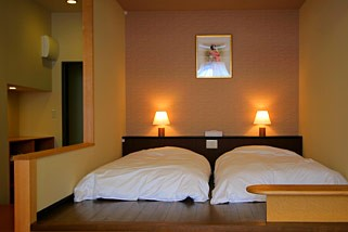 Mixed Japanese/Western Room with Private Onsen (Type A)