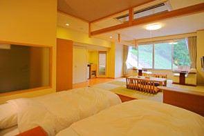 Mixed Japanese/Western Room with Private Onsen (Type B)