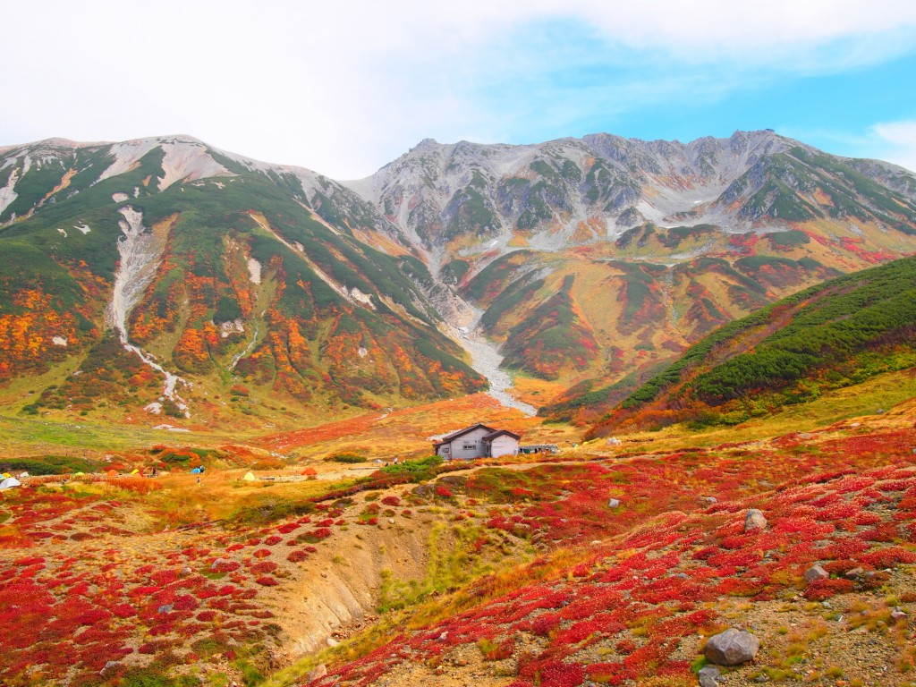 tateyama in autumn