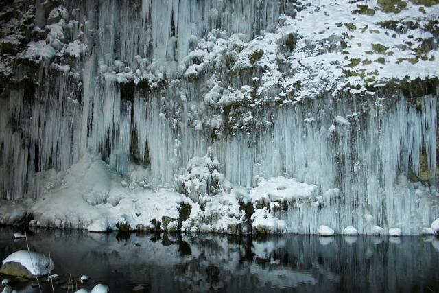 Shirakawa Ice Pillars