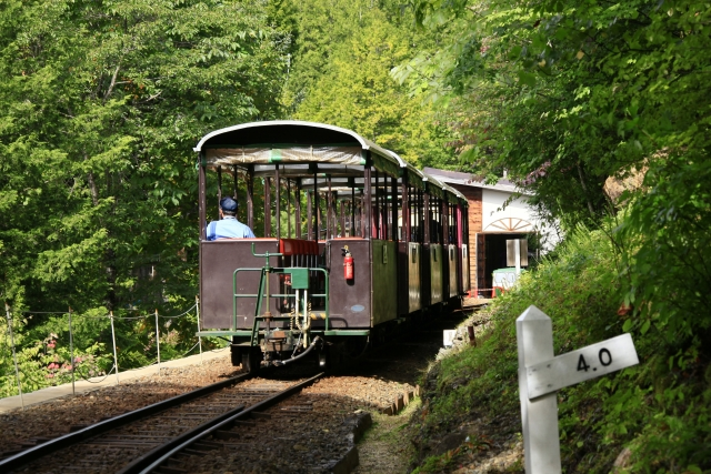 Akasawa Natural Recreational Forest and Otaki Forest Railway