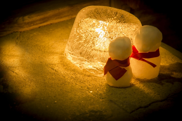 Naraijuku Ice Candle Festival
