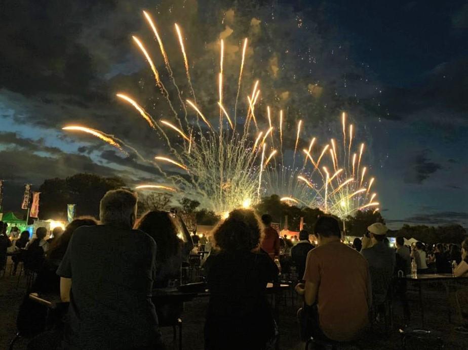 Azumino Fireworks Festival & Snow Monkeys