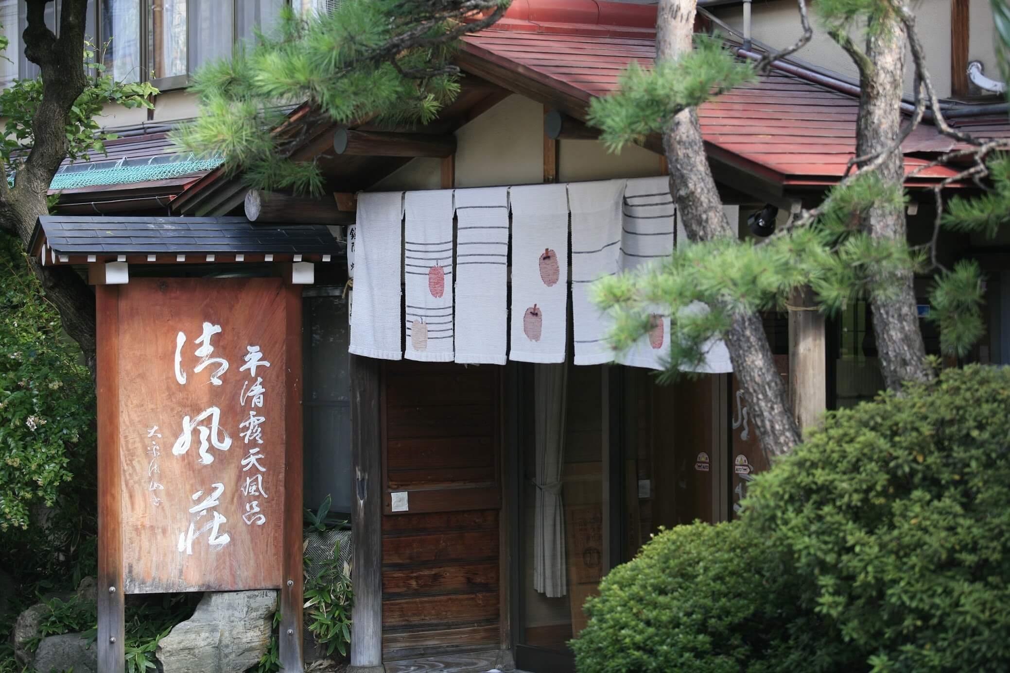 传统温泉宾馆