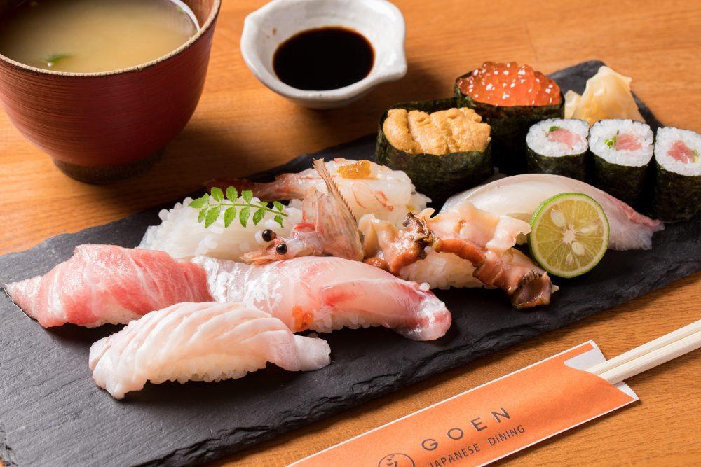 (EN) Premium sushi