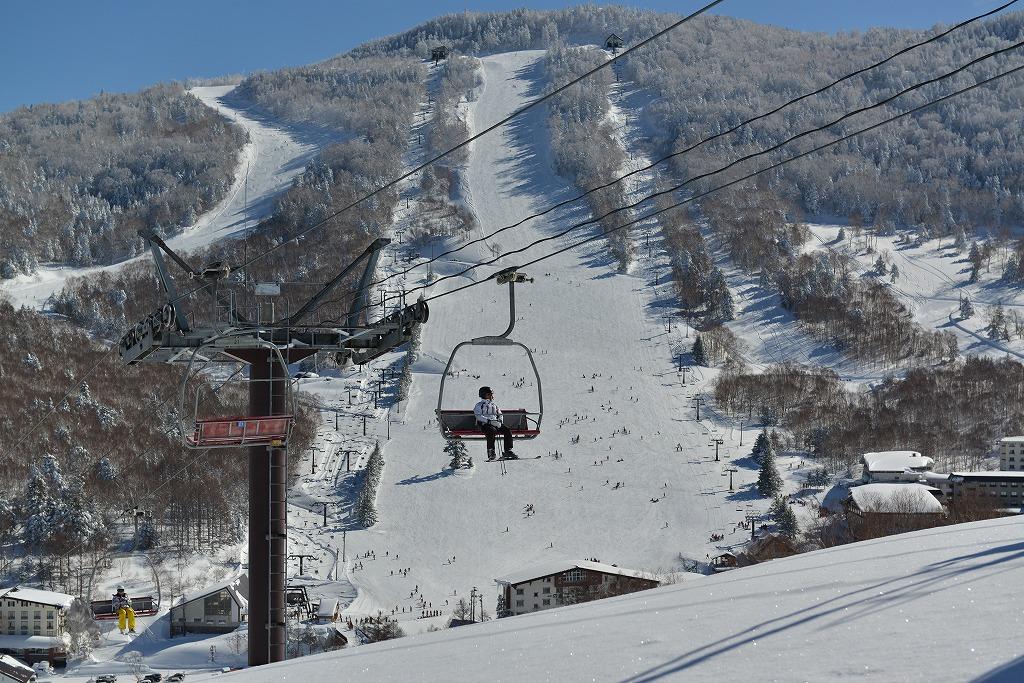 [滑雪运动]志贺高原-中心区域