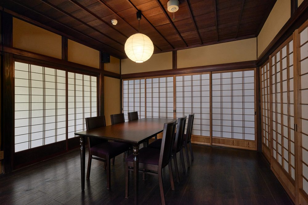 Spacious Dining Area & Private Rooms