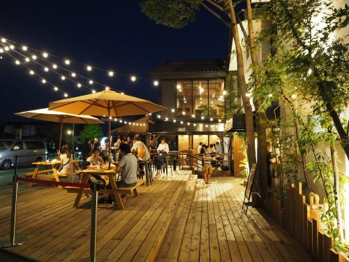 Enjoy the terrace with Enya's summer Beer Garden