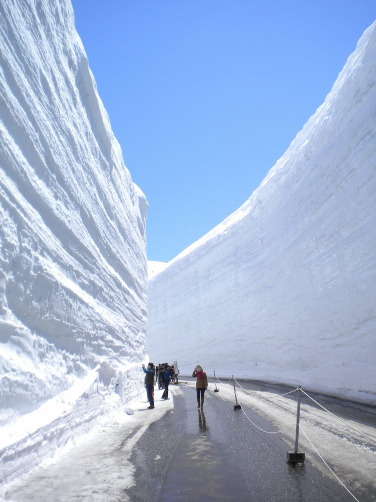tateyama-kurobe-alpine-route-snow-walls