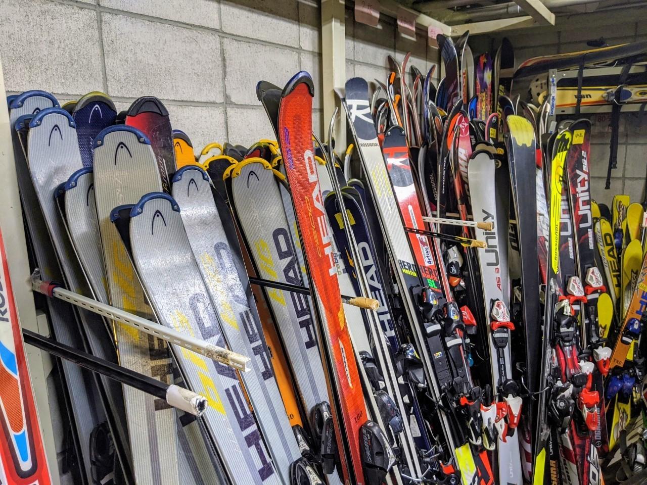 内部租赁及附近的滑雪学校