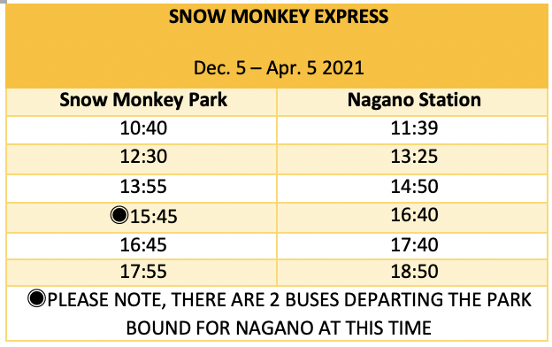 winter-snow-monkey-express-timetable