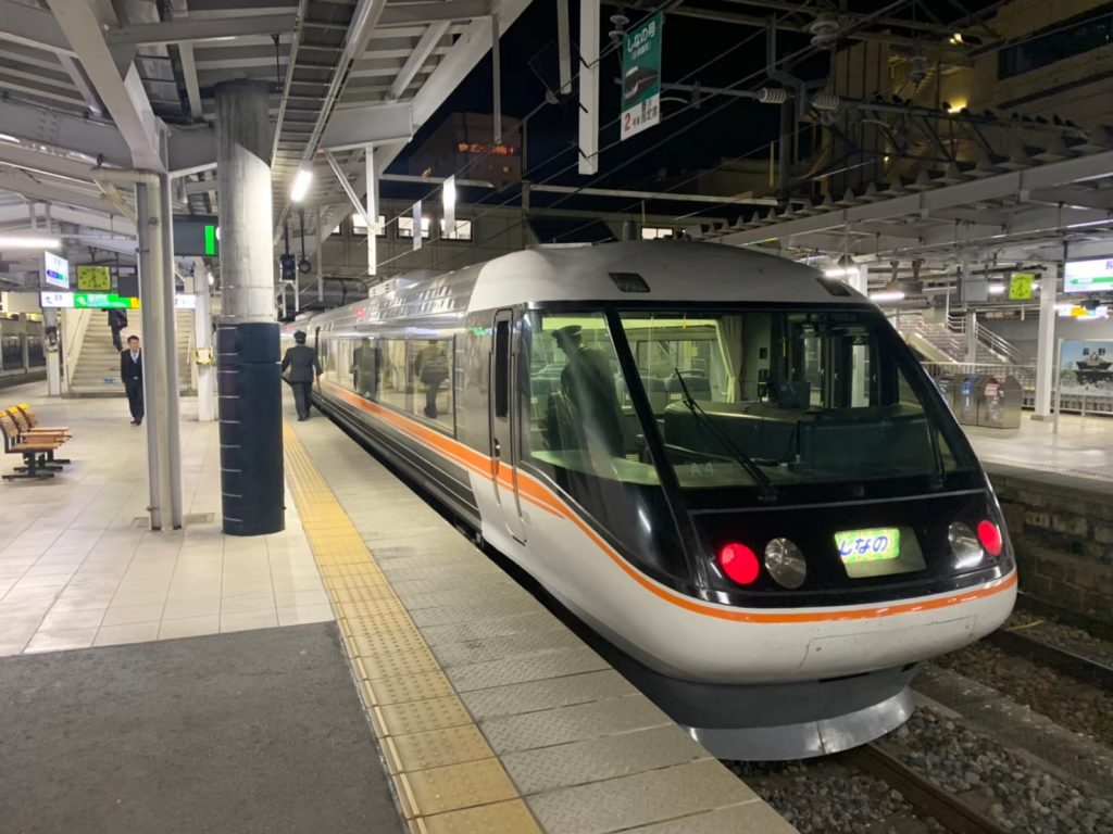 nagano-station-limited-express-shinano