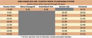 kusatsu-karuizawa-bus