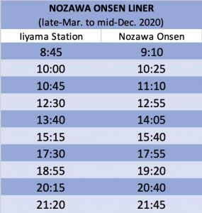 nozawa-onsen-liner-bus-timetable