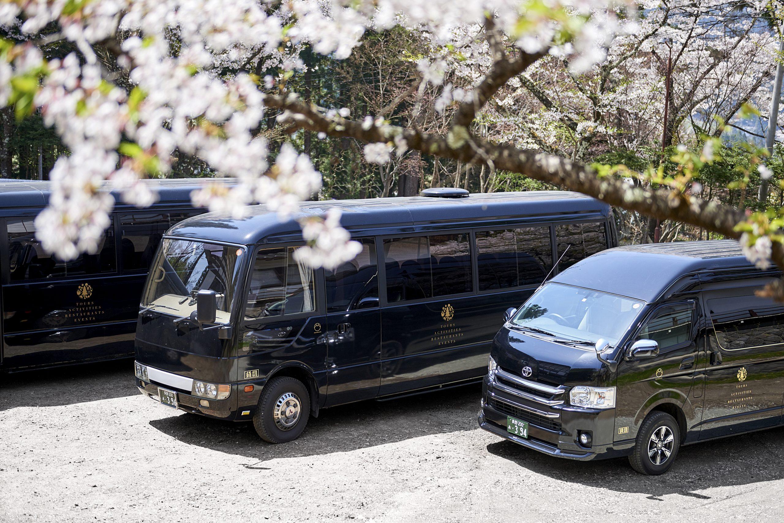 旅游配套和包车服务