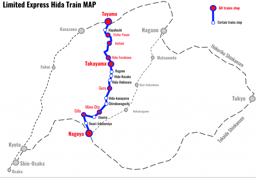 Limited-Express-Hida-Train-MAP