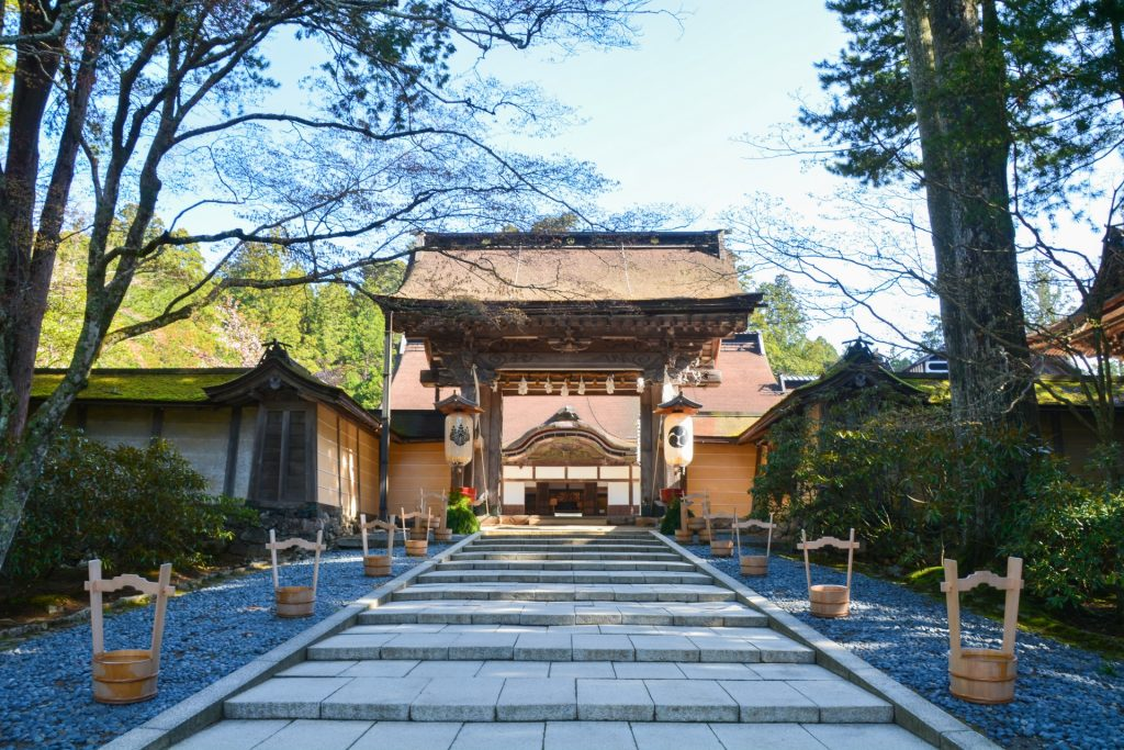 Mount-Koya-koyasan-kongobuji-temple