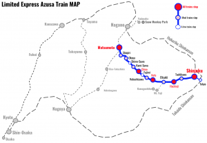 Limited-Express-Azusa-Train-MAP