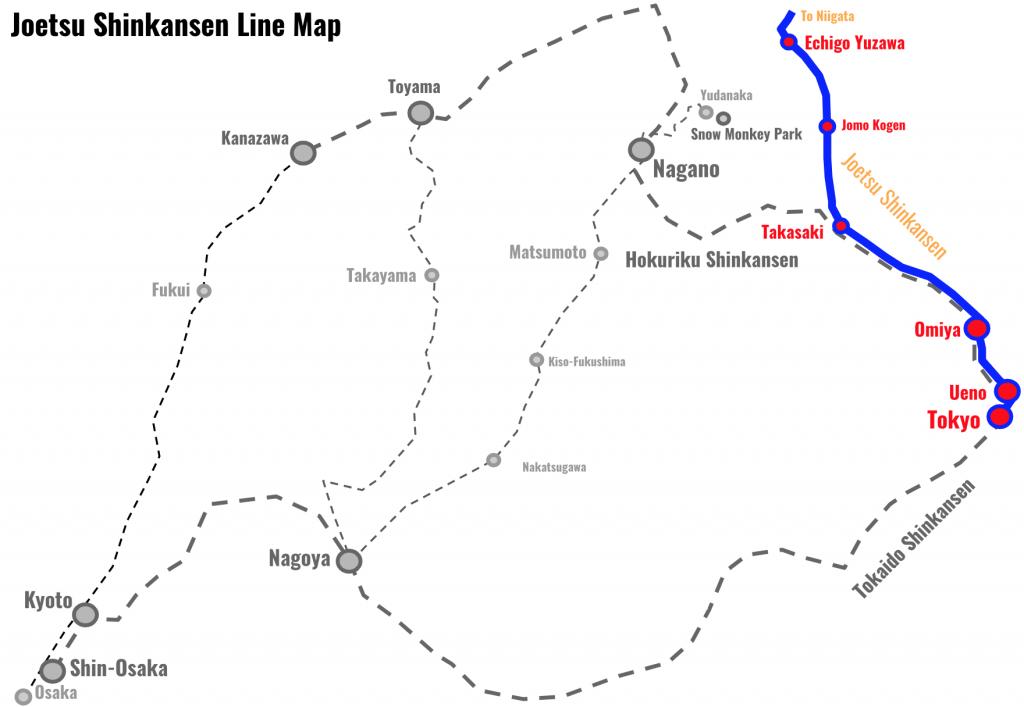 Joetsu-Shinkansen-Line-Map