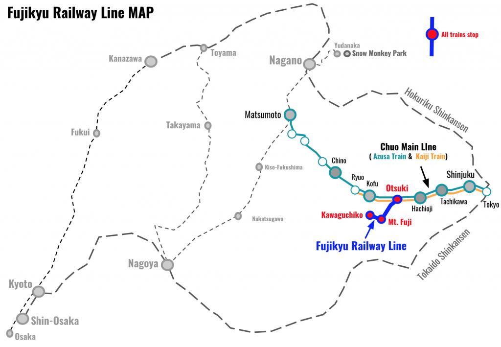 fujikyu-railway-line-Map