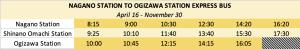tateyama-kurobe-bus-schedule