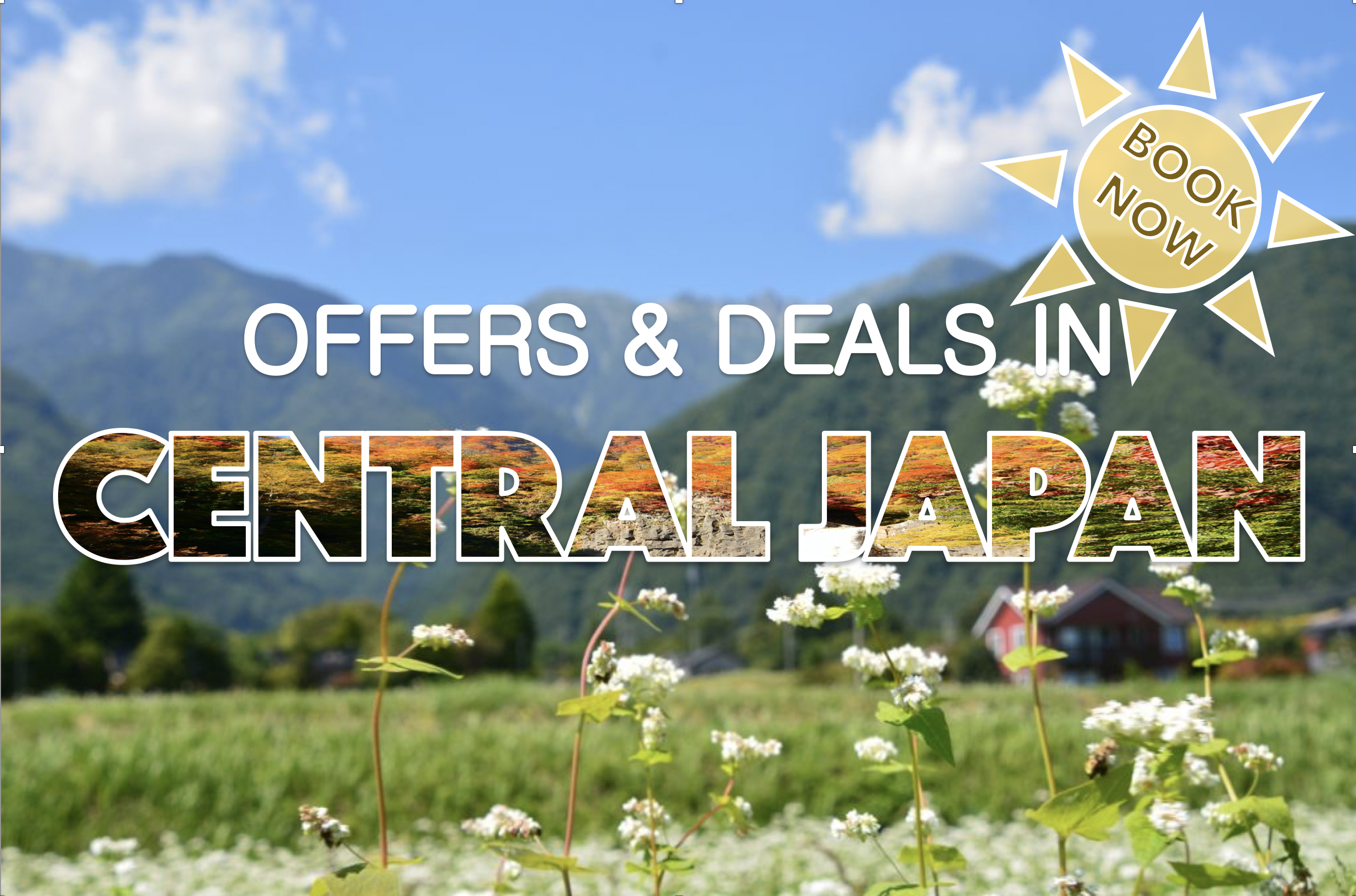 Deals in Nagano & Central Japan