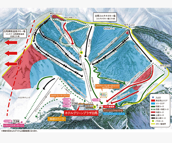 hakuba-cortina-course-map