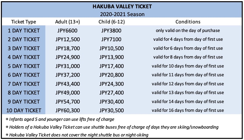 hakuba-valley-ticket