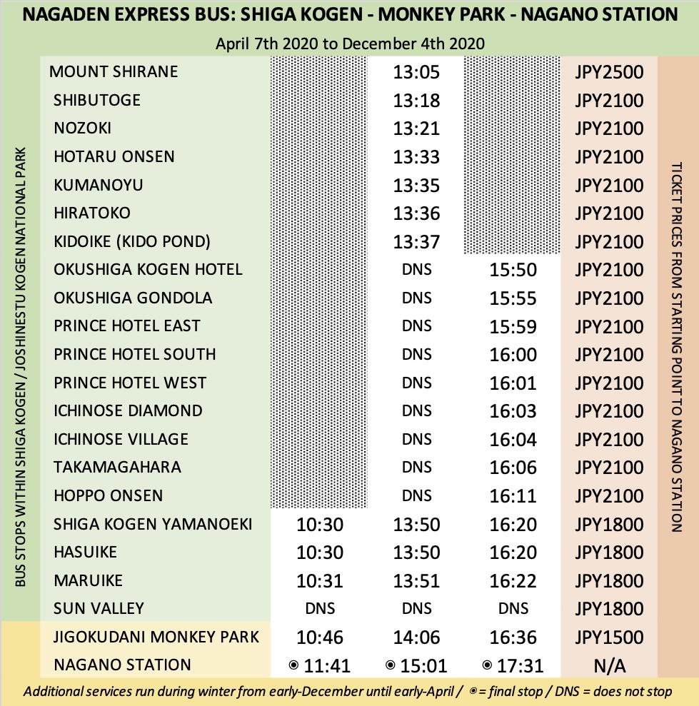 nagaden-shiga-kogen-express-timetable