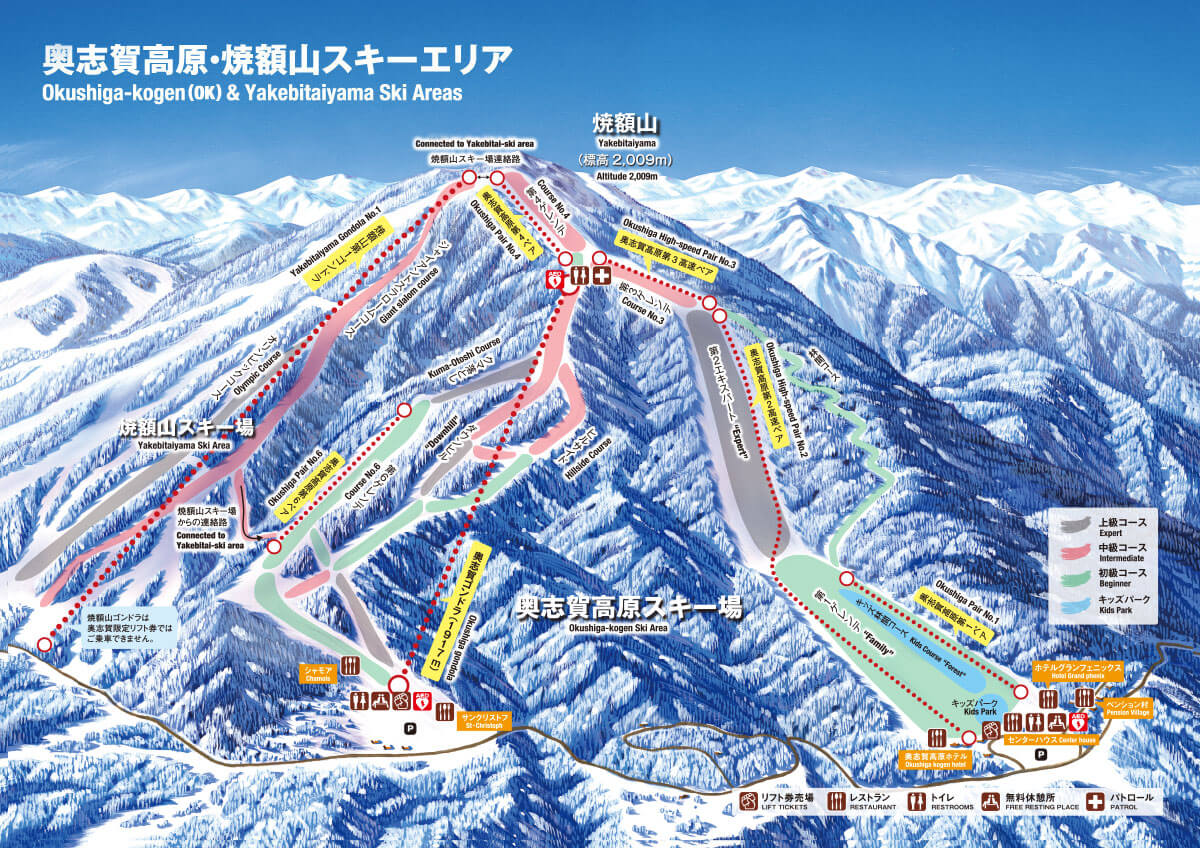 yakebitai-okushiga-trail-map