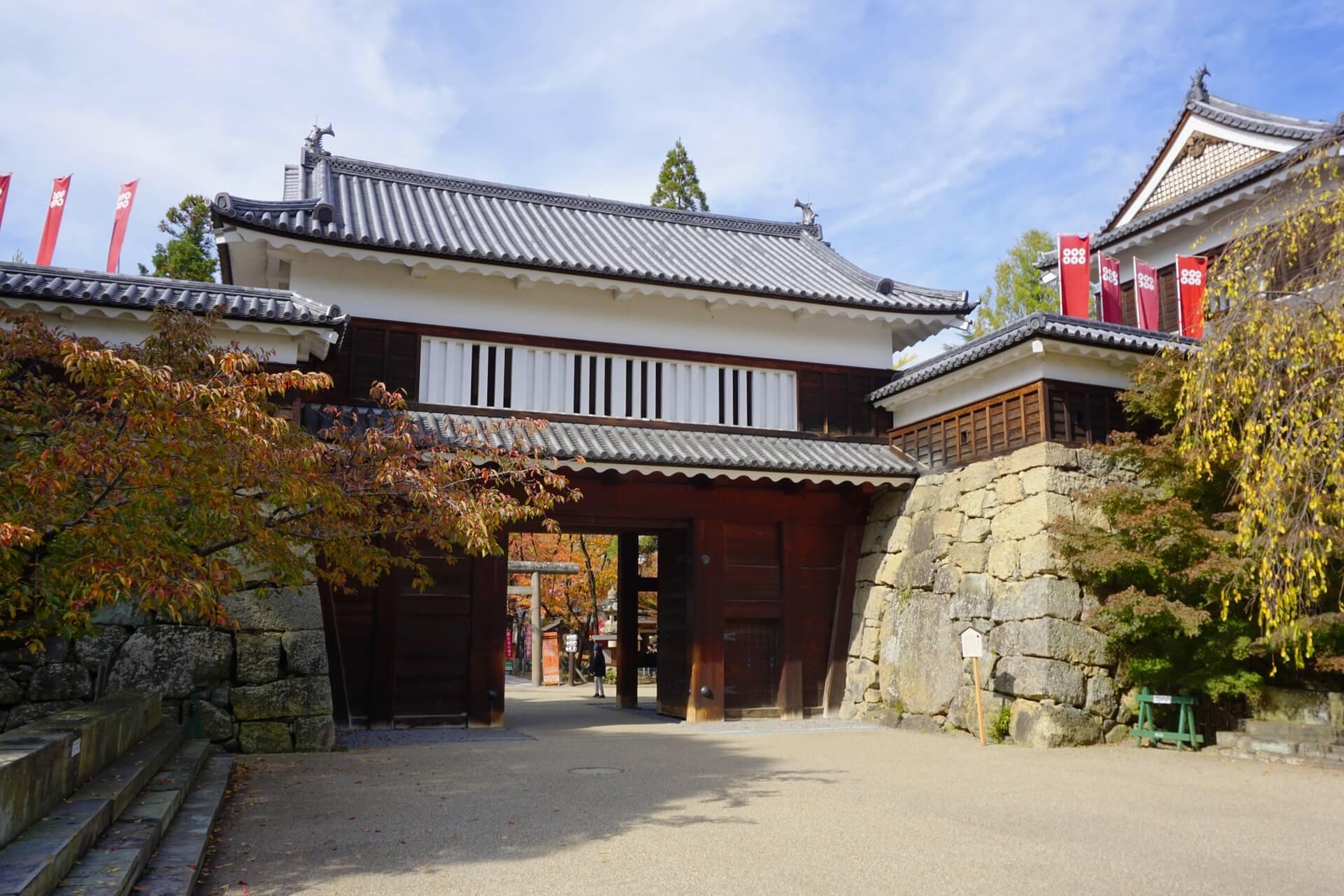 ueda-castle-gate