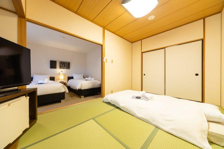 高级日式三人房或四人房