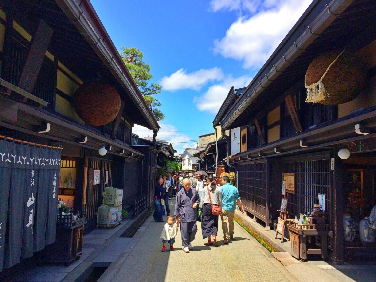 takayama-streetscape