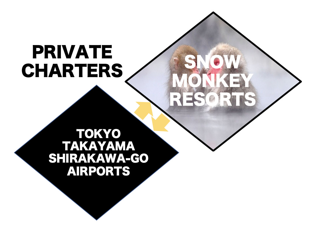 Charter To/From Snow Monkey Park