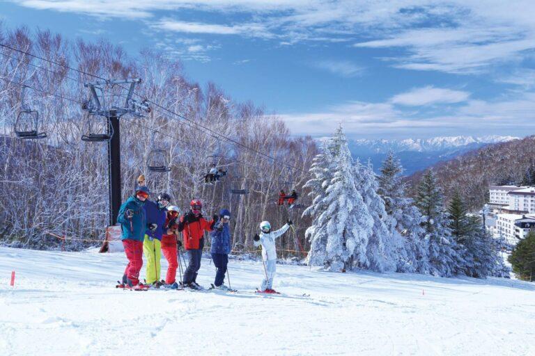 体验长野最长滑雪季的绝佳位置