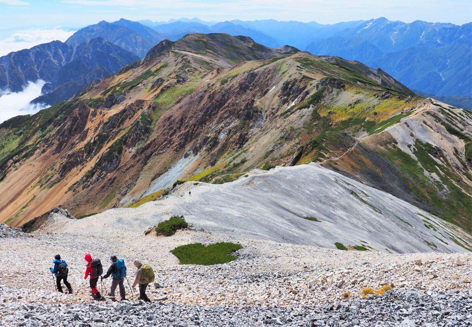 alps-chubu-sangaku-hiking