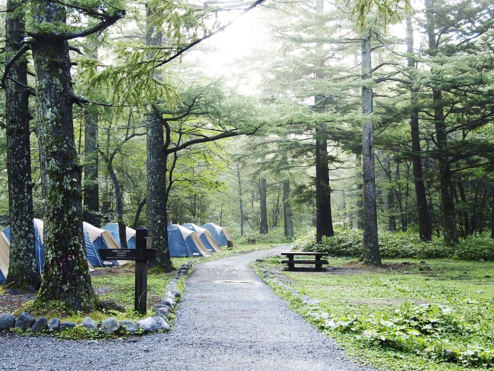 kamikochi-camping